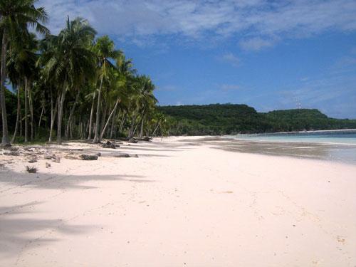 Strand bij Selayar