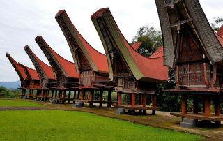 Toraja woningen